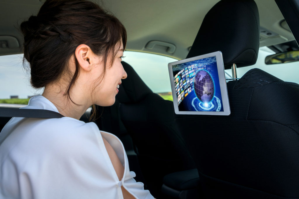 iPad車載ホルダー