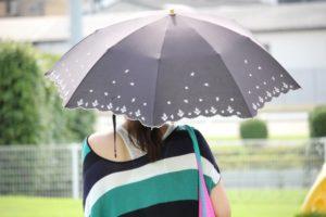 日傘として使えると便利